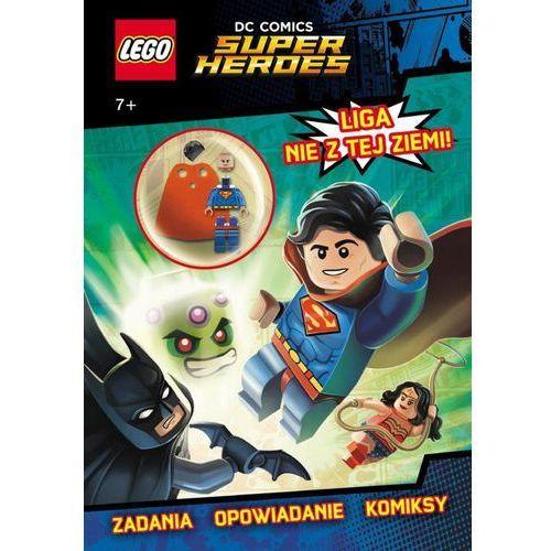 KSIĄŻKA LEGO® Super Heroes. Liga nie z tej ziemi!