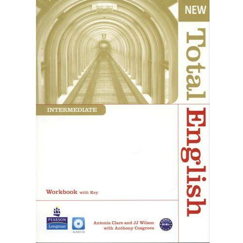 New Total English Intermediate Workbook With Cd, Pearson Education