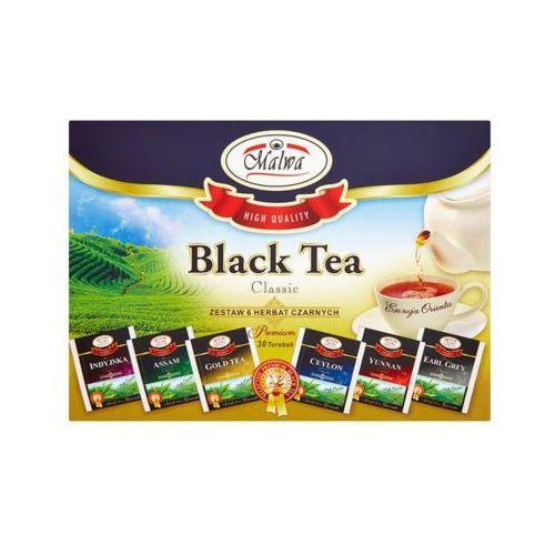 Malwa 30x1,5g zestaw 6 herbat czarnych smakowych (30 torebek)