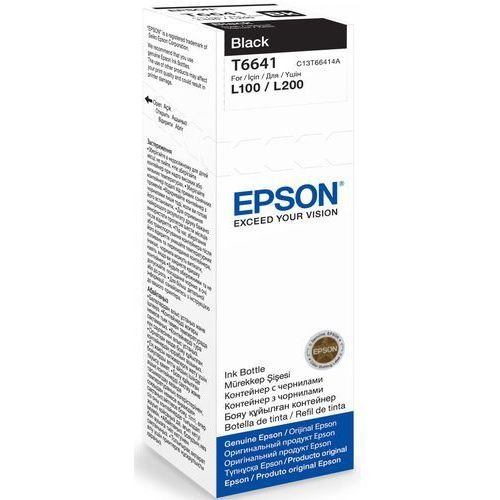Epson Tusz t6641 black 70ml butelka do l100/110/200/210/300/355/550 (8715946496535)
