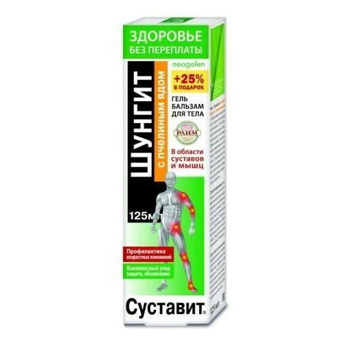 Żel-balsam na stawy i mięśnie Sustawit z szungitem i jadem pszczelim 125ml, KF148/1
