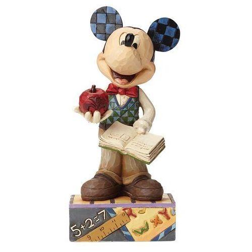 Jim shore Myszka mickey mouse nauczyciel matematyki class act (teacher mickey) 4049634 figurka dekoracja pokój dziecięcy