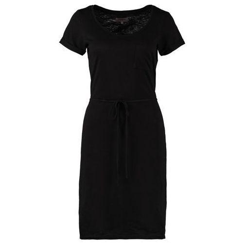 Zalando Essentials Sukienka z d�erseju czarny