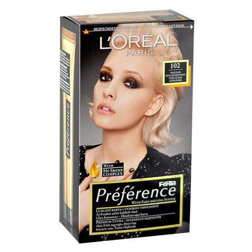 Préférence Féria Hair Colour 1szt W Farba do włosów 102 Iridescent Pearl Blonde, L´Oreal Paris