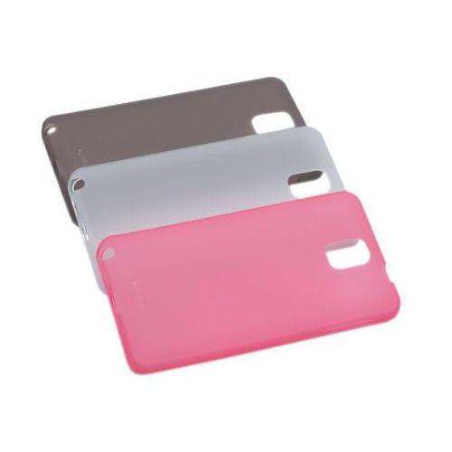 Konkis 3 obudowy colla glossy 3in1 case tpu - różowa, biała i czarna - samsung galaxy note 3 n9000
