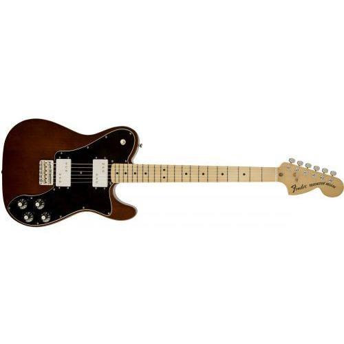 classic series ′72 telecaster deluxe, maple fingerboard, walnut gitara elektryczna marki Fender