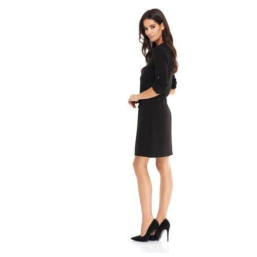 Sukienka Anastacia w kolorze czarnym, kolor czarny