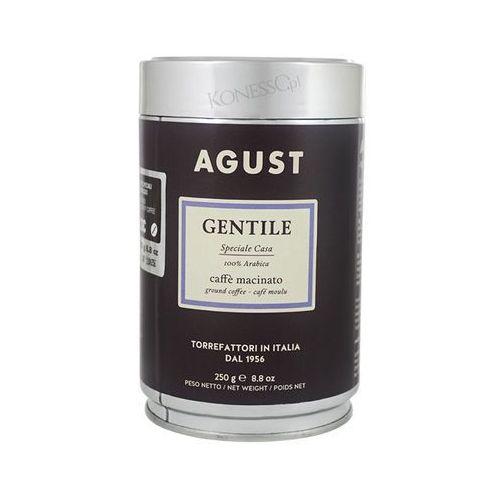 Kawa mielona gentile 100% arabica 250g w puszce marki Agust