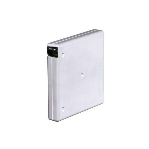 Natynkowy, przykręcany zwijacz bez taśmy (do taśmy o szer. 15 mm), biały