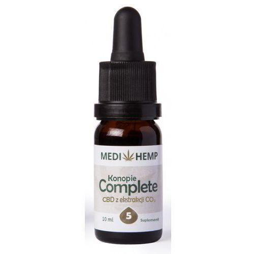 Medihemp 5 Complete naturalny olejek CBD/CBDa z ekstrakcji CO2 10ml