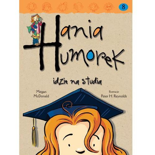 Hania Humorek idzie na studia, oprawa broszurowa