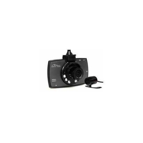 Media tech Media-tech u-drive dual - system 2 kamer samochodowych do rejestracji zdarzeń drogowych. full hd 1080p, kamera cofania mt4056 mt4056 - odbiór w 2000 punktach - salony, paczkomaty, stacje orlen (5906453140568)