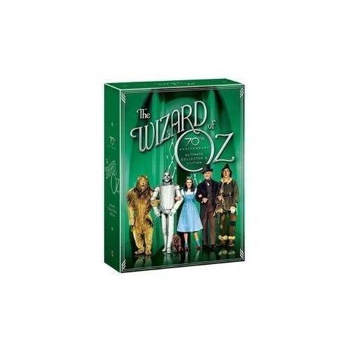 Galapagos films Czarnoksiężnik z krainy oz: limitowana edycja kolekcjonerska (4xdvd) - victor fleming darmowa dostawa kiosk ruchu (7321909233959)