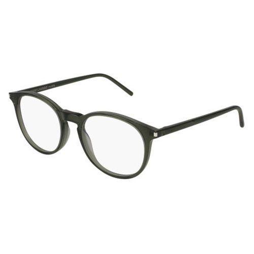 Okulary korekcyjne sl 106 007 marki Saint laurent