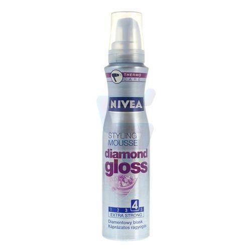 NIVEA 150ml Diamond Gloss Pianka do włosów podkreślająca blask (4005808317776)