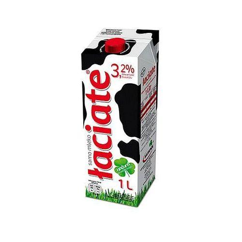 Mleko łaciate uht 3.2% 1l x 12szt marki Mlekpol