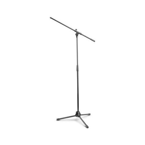 Gravity tms 4321 b touring statyw mikrofonowy z trójnożną, składaną podstawą i dwupunktową regulacją wysięgnika