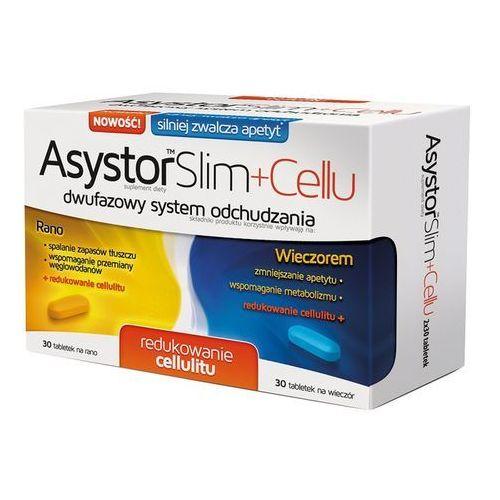 Asystor Slim + Cellu 60 tabl. - tabletki Tabletkina odchudzanie