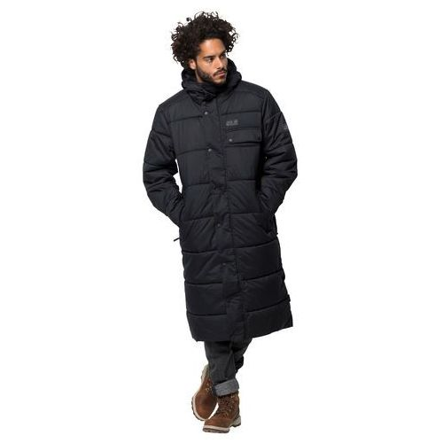 Płaszcz męski KYOTO COAT M black - L, kolor czarny