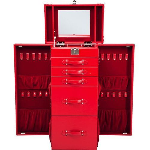 Multipurpose Szafa Czerwona 105x60 cm - 78653, Kare Design