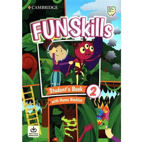 Fun Skills 2 Students Book with Home Booklet and Downloadable Audio - Watkin Montse, Medwell Claire - książka (9781108677370)
