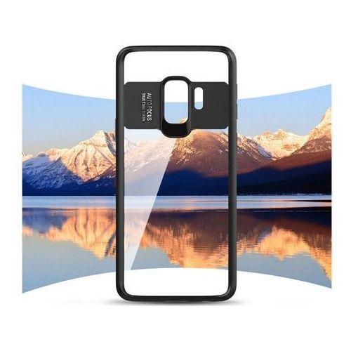 Etui Alogy Samsung Galaxy S9 przezroczyste z czarną ramką - Czarny