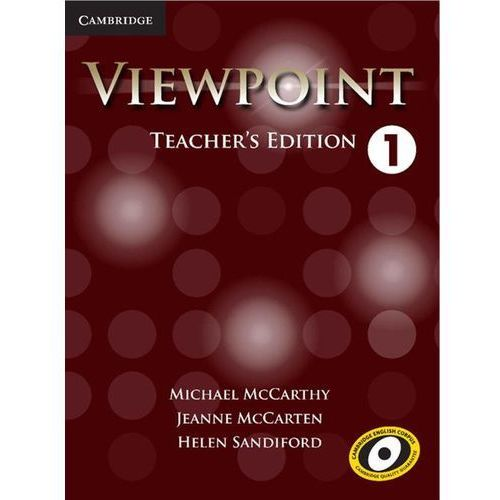 Viewpoint Level 1 Teachers Edition with Assessment Audio CD/CD-ROM (476 str.)
