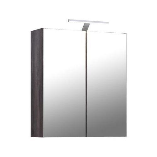 Comad Szafka łazienkowa z lustrem oświetlenie led kolekcja gracja