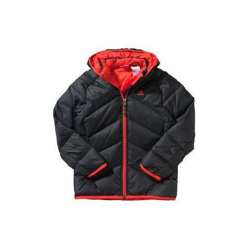 Kurtka puchowa adidas w kolorze czarnym | rozmiar 164 - produkt z kategorii- kurtki dla dzieci