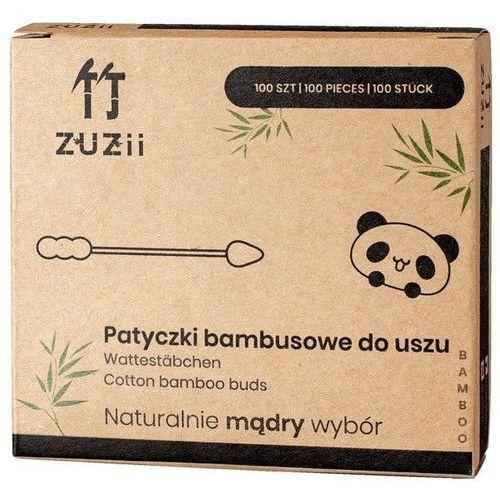Patyczki kosmetyczne z bambusa i bawełny (dwie różne końcówki) 100 szt.