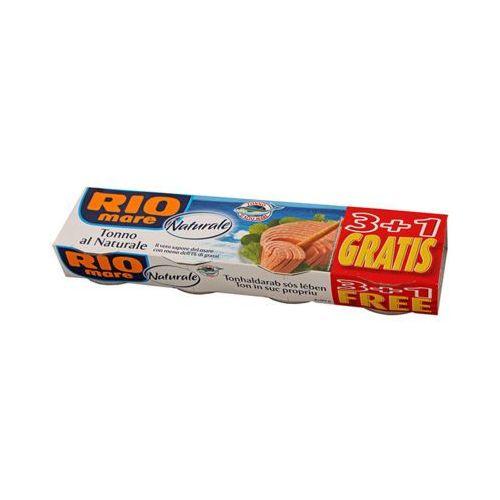 Rio mare 4x80g tuńczyk w sosie własnym