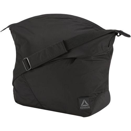 Reebok FOUND SHOULDER BAG Torba sportowa black/medgre (4058028339103)
