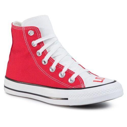 Trampki - ctas hi 567310c white/university red/black marki Converse