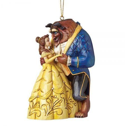 Jim shore Taniec z bellą beauty&the best a28960 10 cm. piękna i bestia figurka ozdoba świąteczna