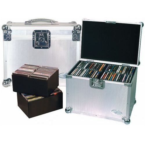 Rockcase rc-27341-a flight case - dj case for 120 cds, futerał na płyty cd- 120 szt