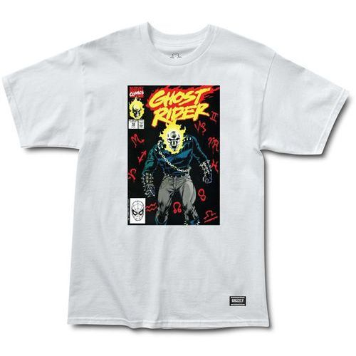 koszulka GRIZZLY - Grizzlyxghost Rider Cover White (WHITE) rozmiar: L, 1 rozmiar