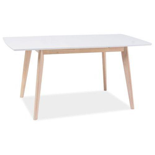 Stół rozkładany COMBO II biały/dąb bielony, COMBO II WH/D
