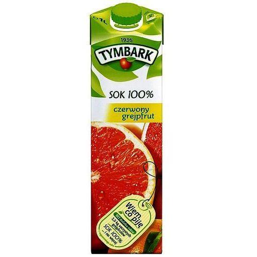 Tymbark Sok czerwony grejpfrut 100% 1l