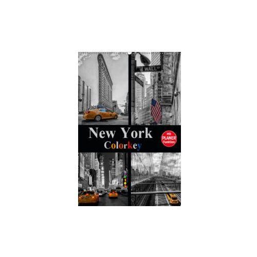 New York Colorkey (Wandkalender 2019 DIN A2 hoch)