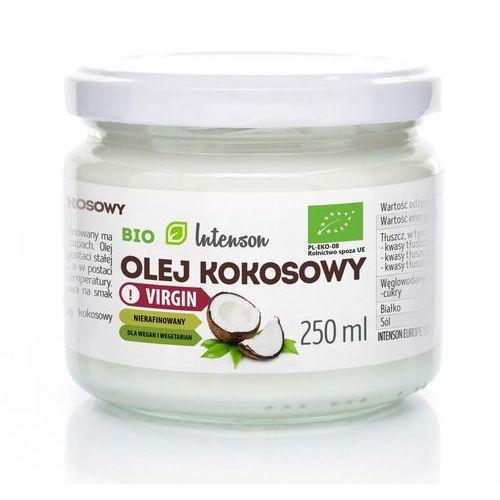 Intenson olej kokosowy nierafinowany virgin bio 250ml (5903240278862)