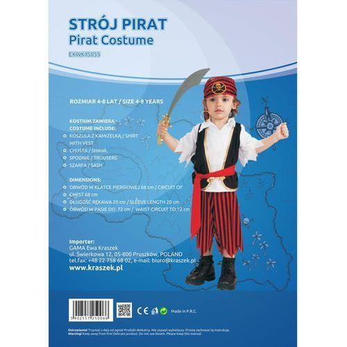 "Gam Strój ""pirat"" 2-4 lata"