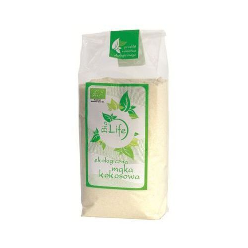 Biolife 250g mąka kokosowa o niższej zawartości tłuszczu bio