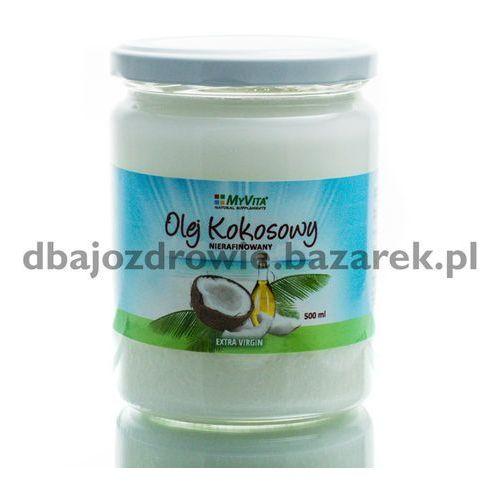 Proness myvita Masło kokosowe nierafinowany, tłoczony na zimno, myvita, 500 ml