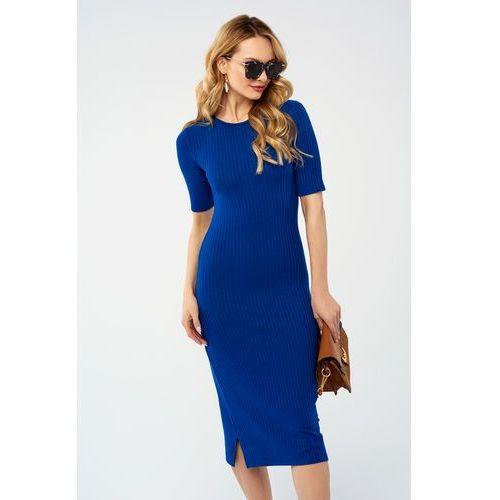 Sukienka Hunny w kolorze niebieskim, w 5 rozmiarach