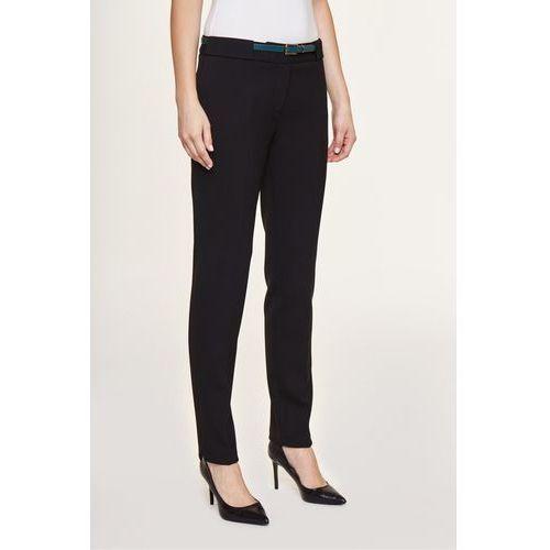 Eleganckie spodnie z zielonym paskiem - Potis & Verso, 1 rozmiar