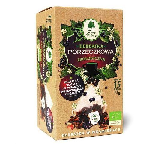 Herbatka Porzeczkowa Piramidki BIO 15 x 3 g Porzeczka Herbata Dary Natury, 5902581618658