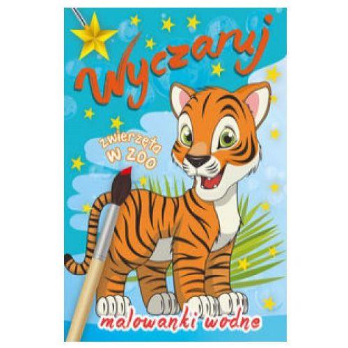 Malowanka wodna. Wyczaruj zwierzęta w zoo (9788379158577)