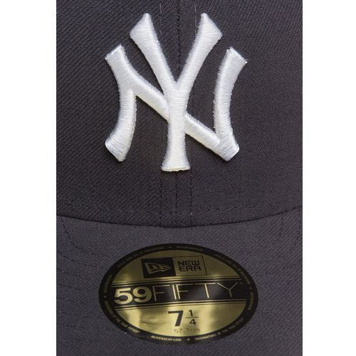 New Era 59FIFTY NEW YORK YANKEES Czapka z daszkiem mlb basic neyyan graphite/white - produkt dostępny w Zalando.pl