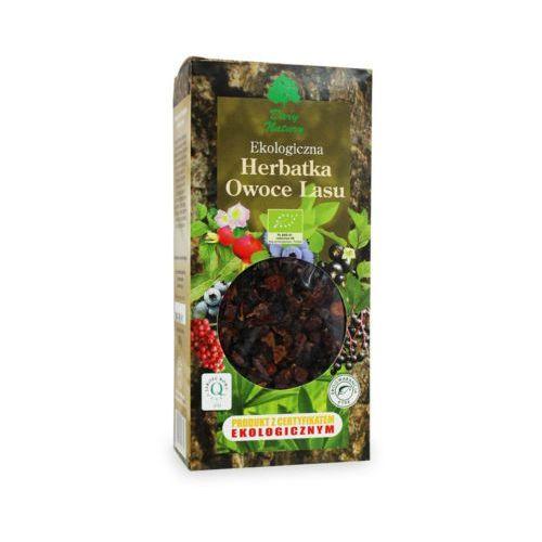100g herbata owoce lasu liściasta bio marki Dary natury