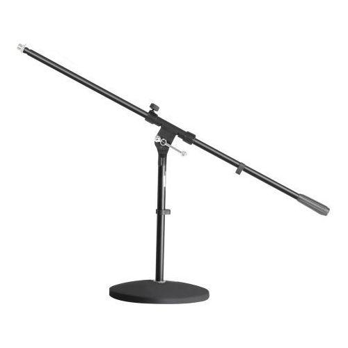 Adam Hall Stands S 7 B - Statyw mikrofonowy z okrągłą podstawą i ramieniem wychylnym